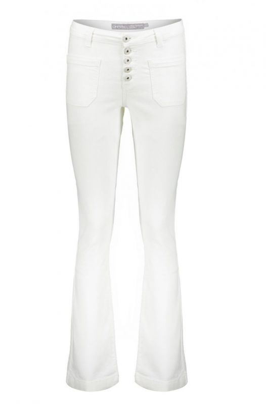 Geisha 01357-48 Flair Broek Off White