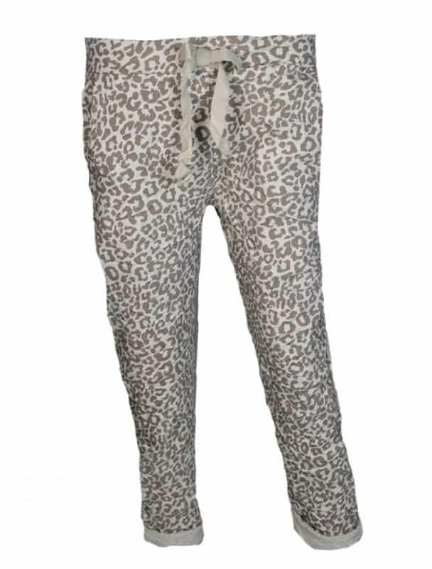Triple Nine Comfy Broek Leopard