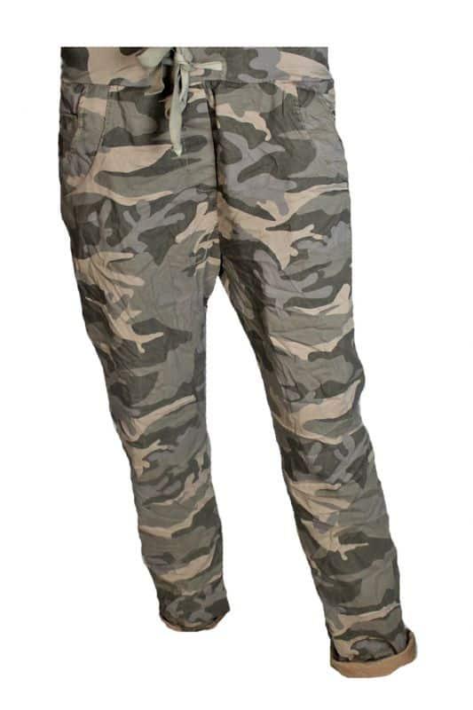 Triple Nine Comfy Broek Print Army