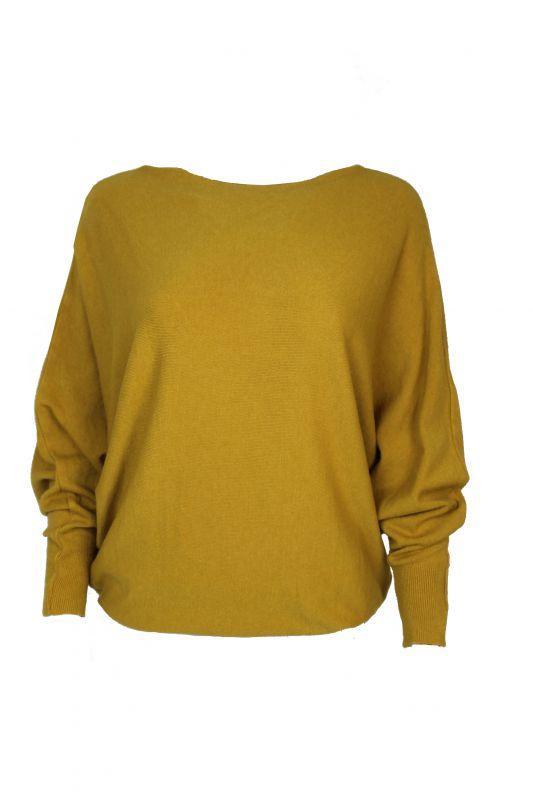 Triple Nine Sweater Geel