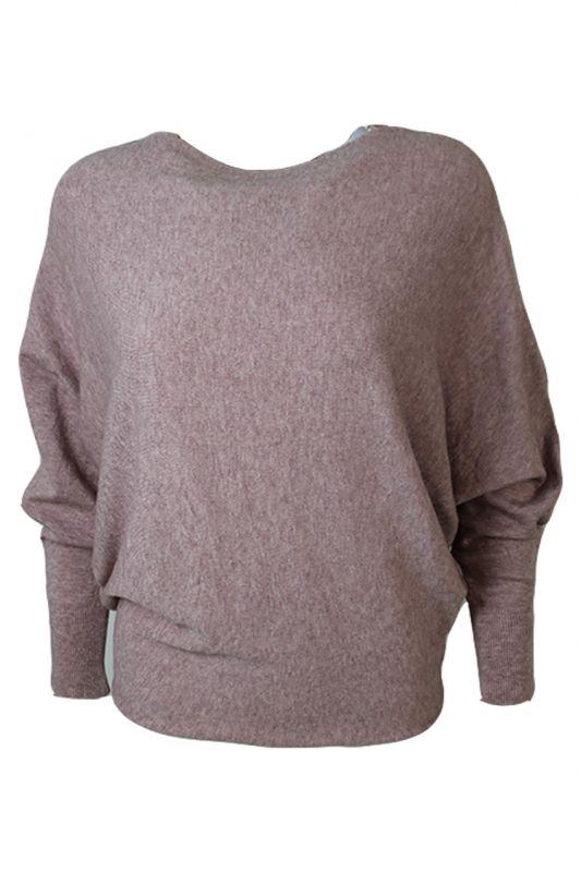 Triple Nine Sweater Roze