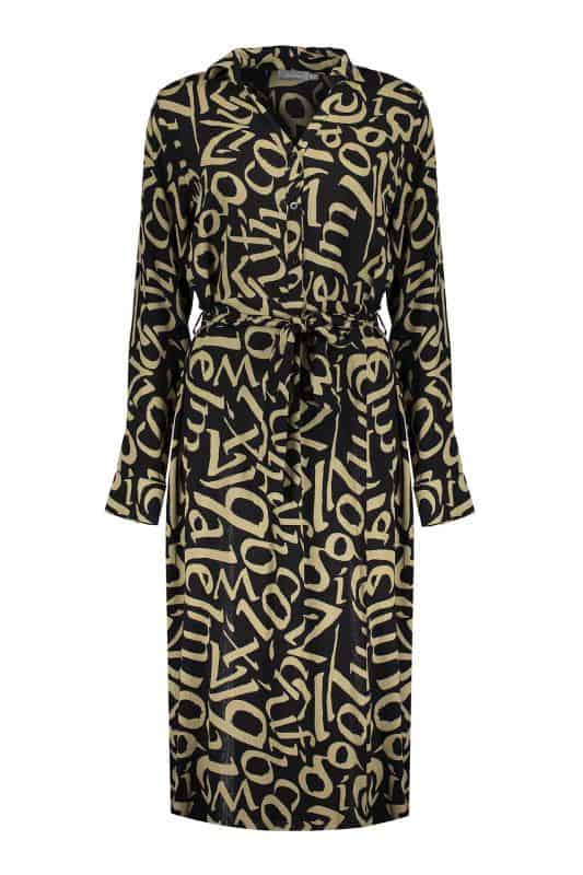 Geisha Dress AOP Letters With Strap