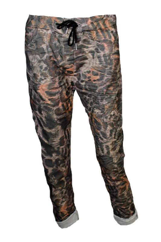 Triple Nine Comfy Broek Print Animal