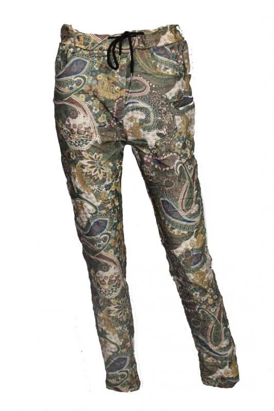 Triple Nine Comfy Broek Paisley