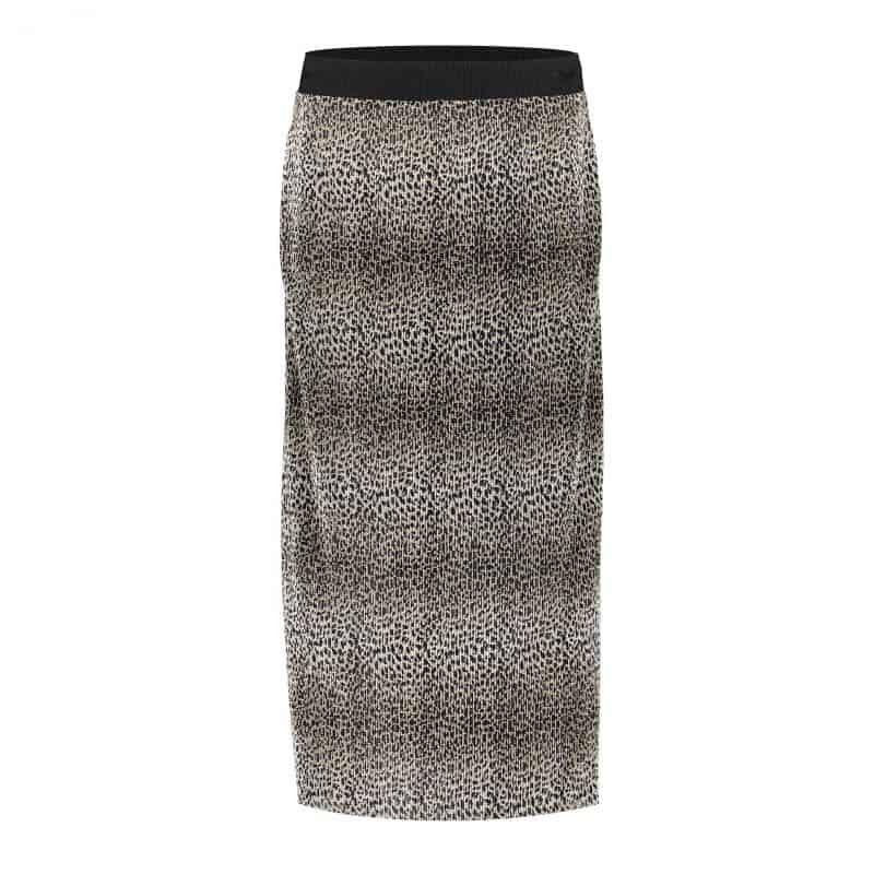 Geisha Leopard Skirt