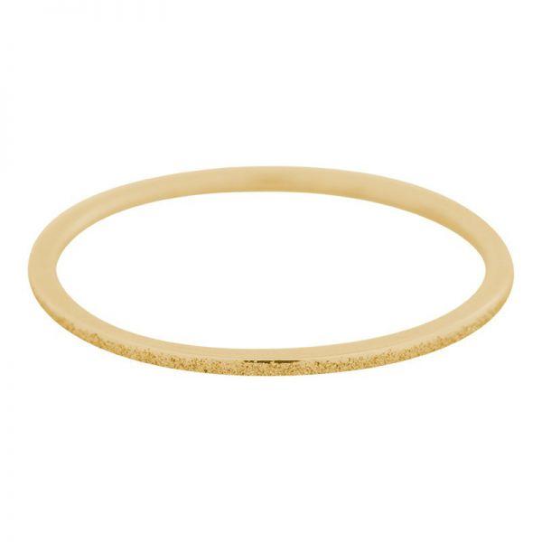 iXXXi Jewelry Sandblasted Goud 1mm