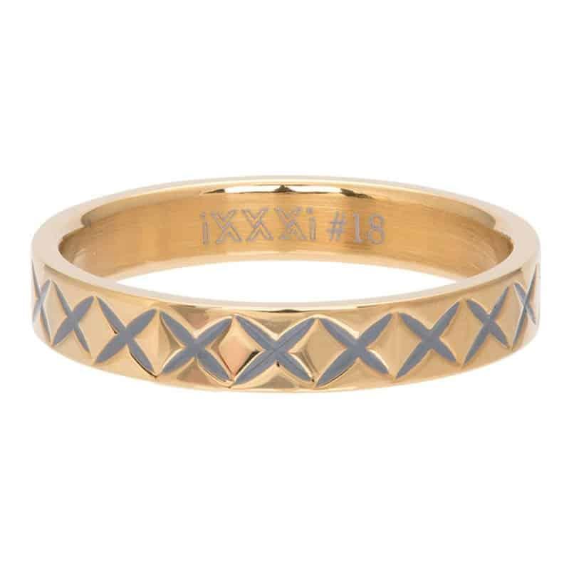 iXXXi Jewelry Vulring 4mm X Line