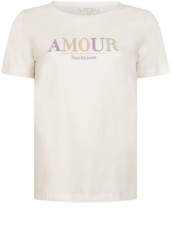 Tramontana T-Shirt Amour Cream