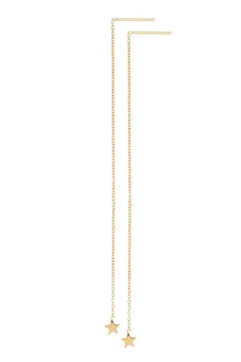 iXXXi Jewelry Ear Studs Chain Star