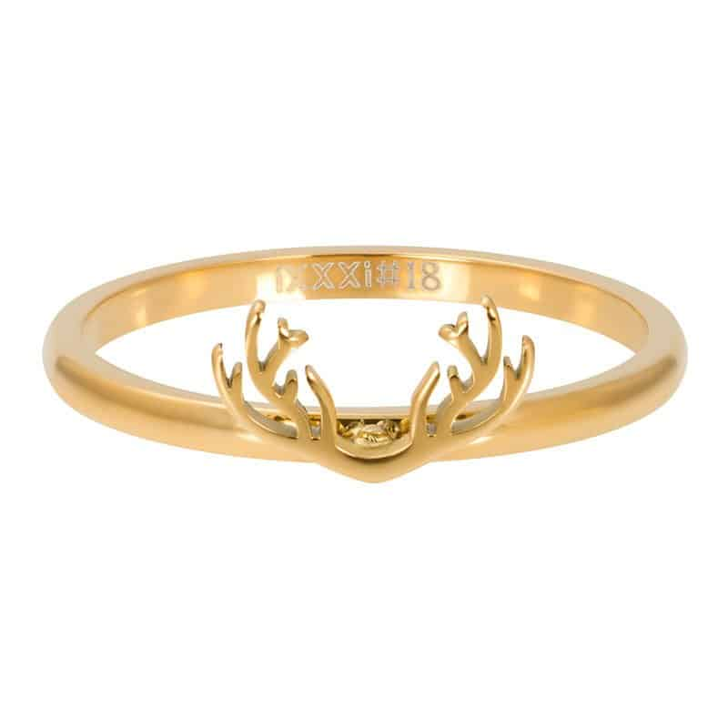 iXXXi Jewelry Vulring 2mm Symbol Antlers