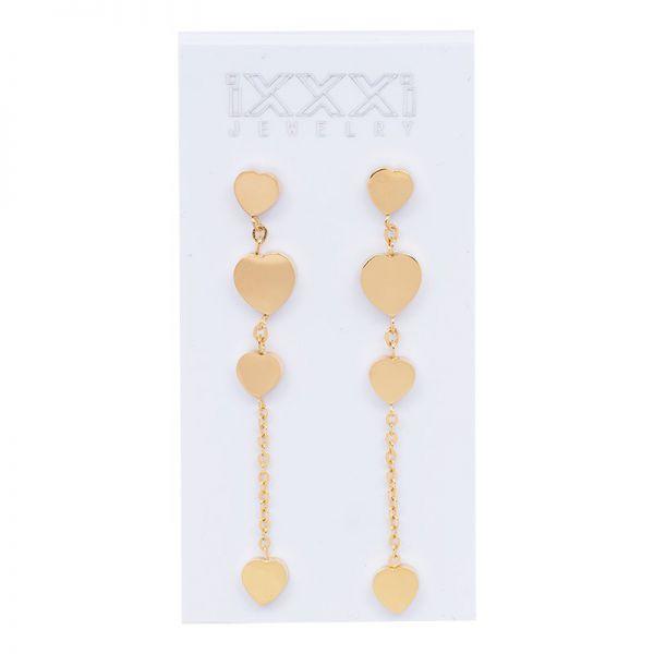 iXXXi Jewelry 4 Hearts Dangle Earring