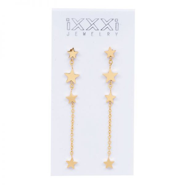 iXXXi Jewelry 4 Stars Dangle Earring