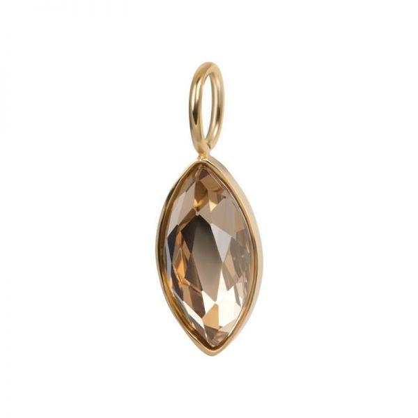 iXXXi Jewelry Charm Royal Diamond Goud