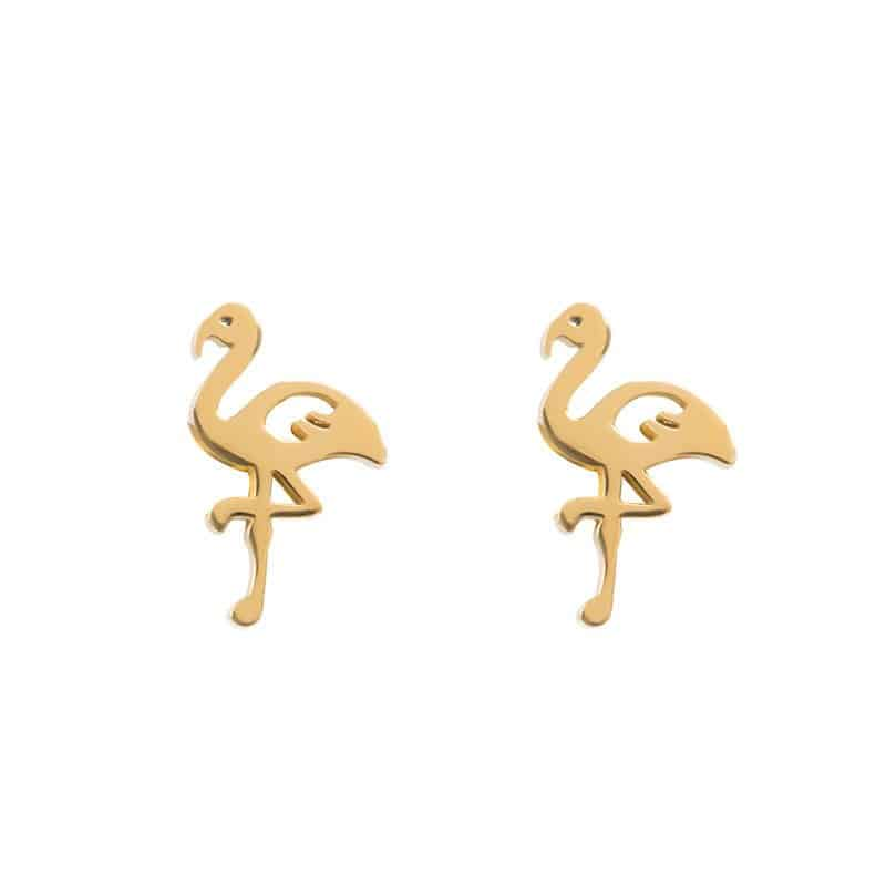 iXXXi Jewelry Ear Studs Flamingo