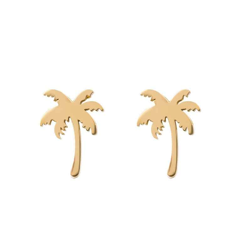 iXXXi Jewelry Ear Studs Palm Tree