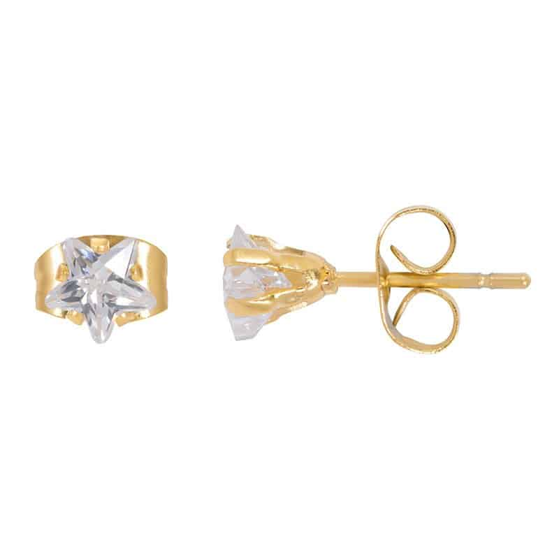 iXXXi Jewelry Ear Studs Star Stone
