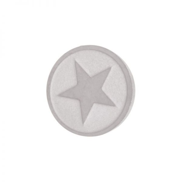 iXXXi Jewelry Top Part Star Zilver