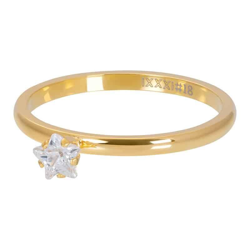 iXXXi Jewelry Vulring Star Crystal Stone 2mm
