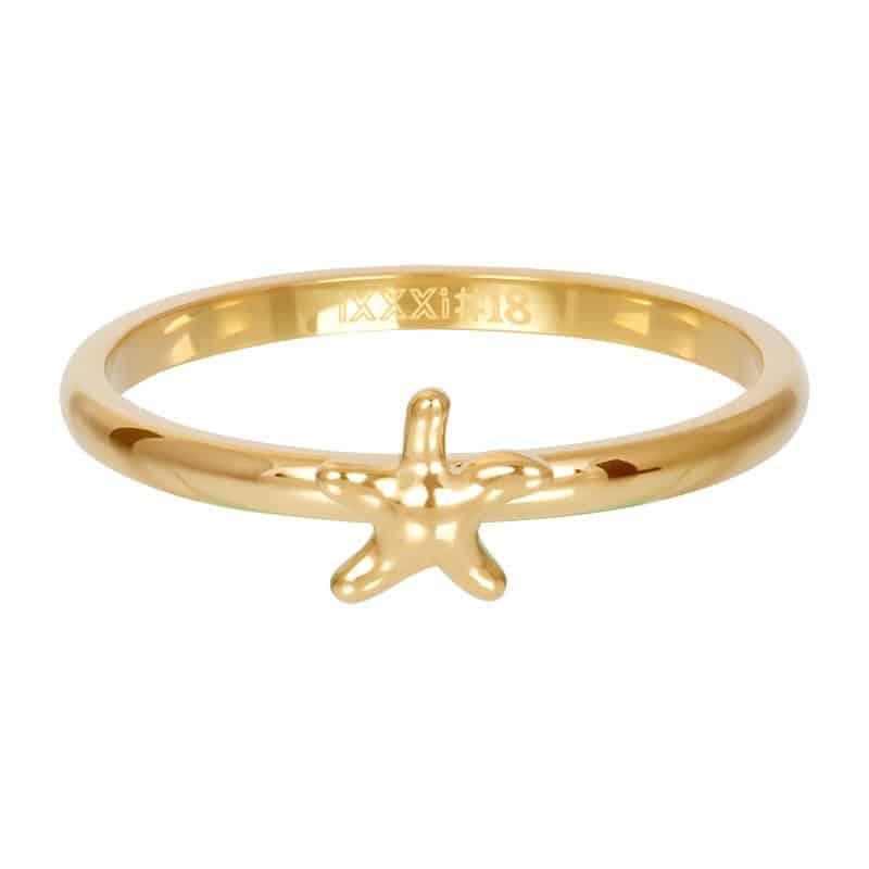 iXXXi Jewelry Vulring Symbol Starfish 2mm