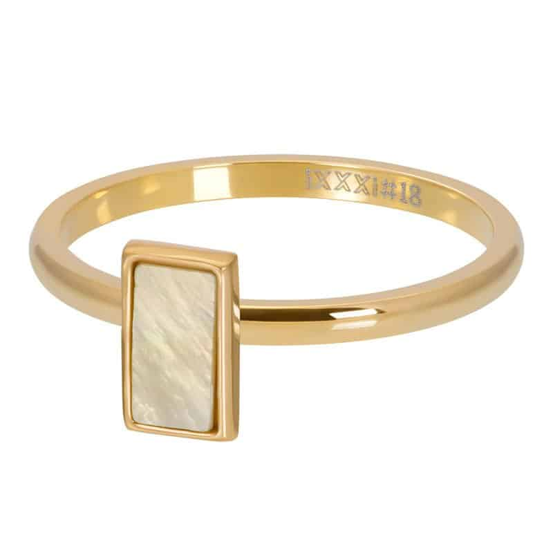 iXXXi Jewelry Vulring Yellow Shell Stone 2mm