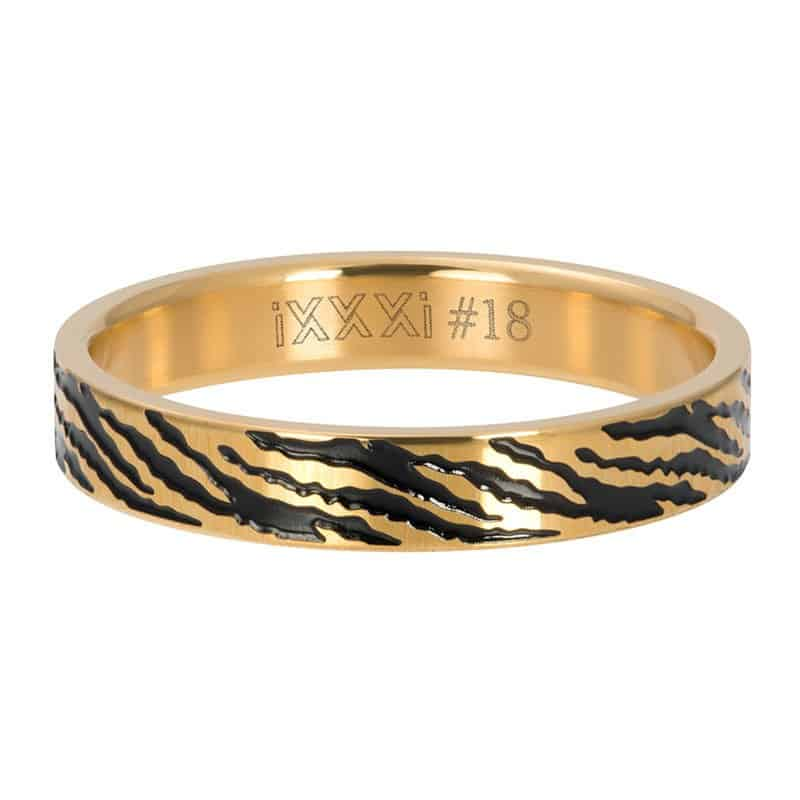 iXXXi Jewelry Vulring 4mm Zebra