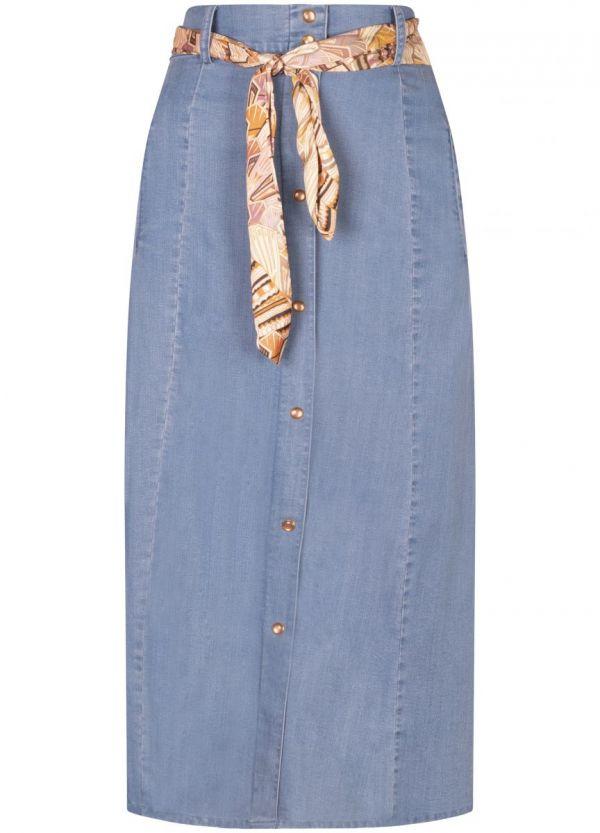 Tramontana Skirt A Line Tencel