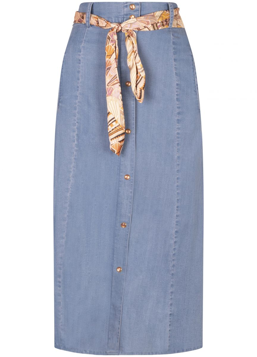 Tramontana Skirt A-Line Tencel