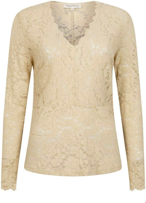 Tramontana Top Lace Champagne