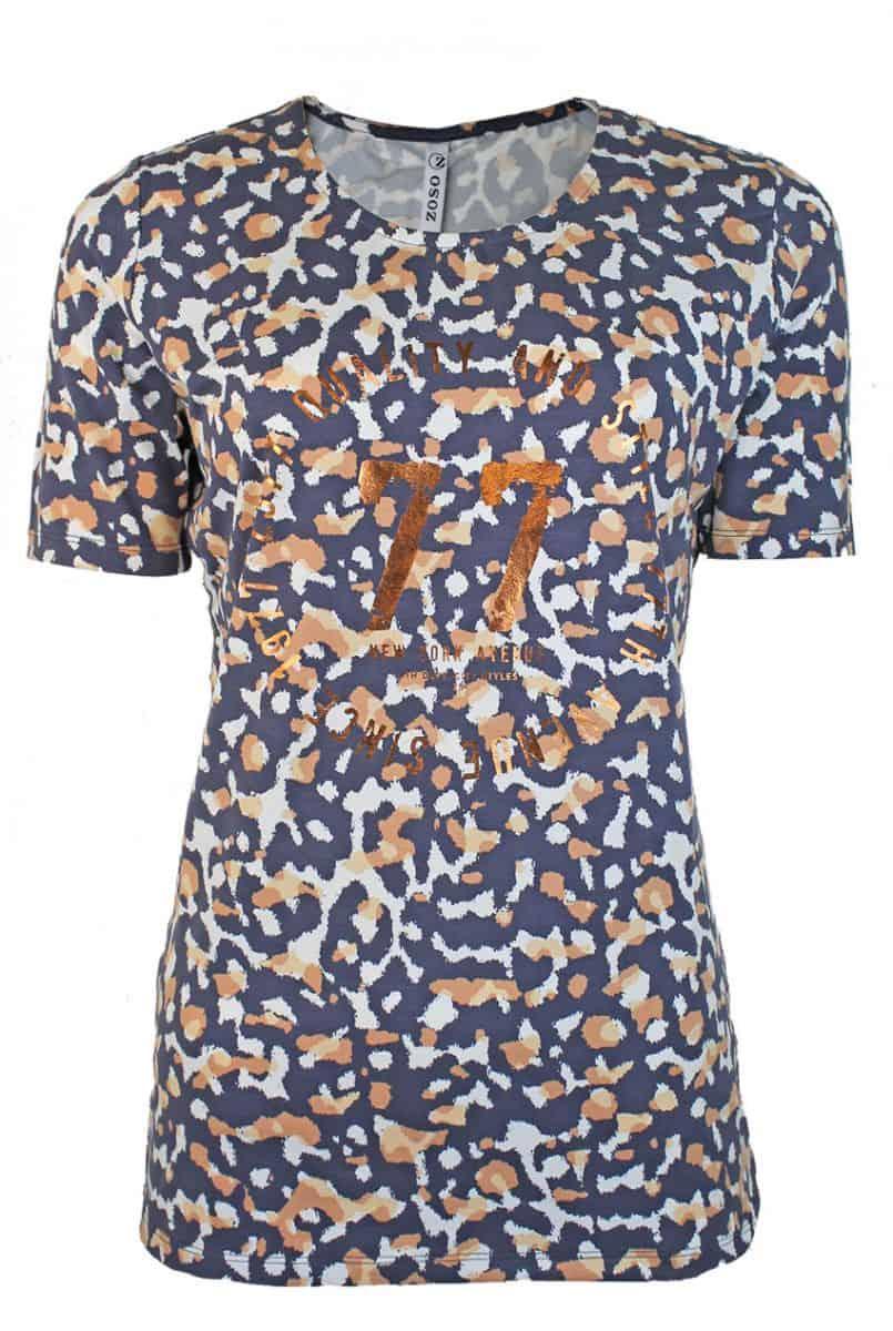 Zoso Alllover Printed T-Shirt 211 Sofia