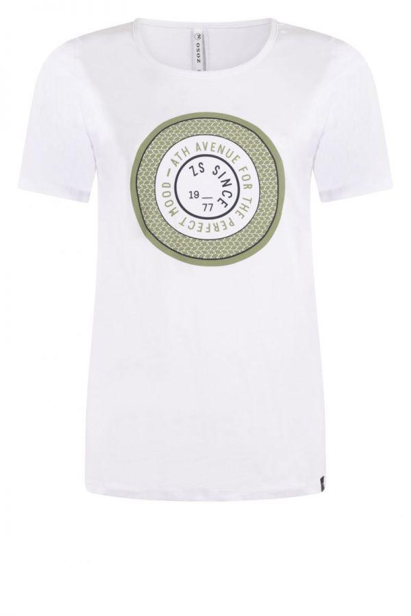 Zoso T-Shirt 212 Lenny Seagrass Green