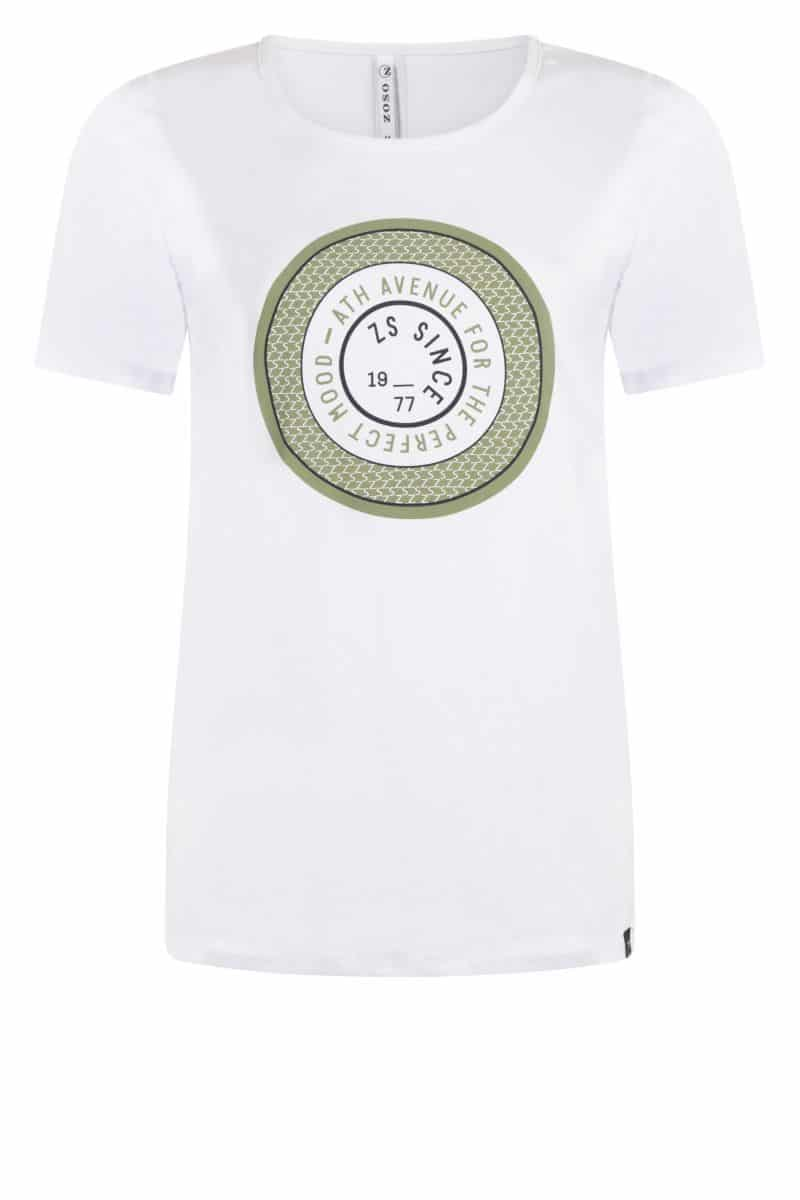 Zoso T-Shirt 212 Lenny Seagrass Green