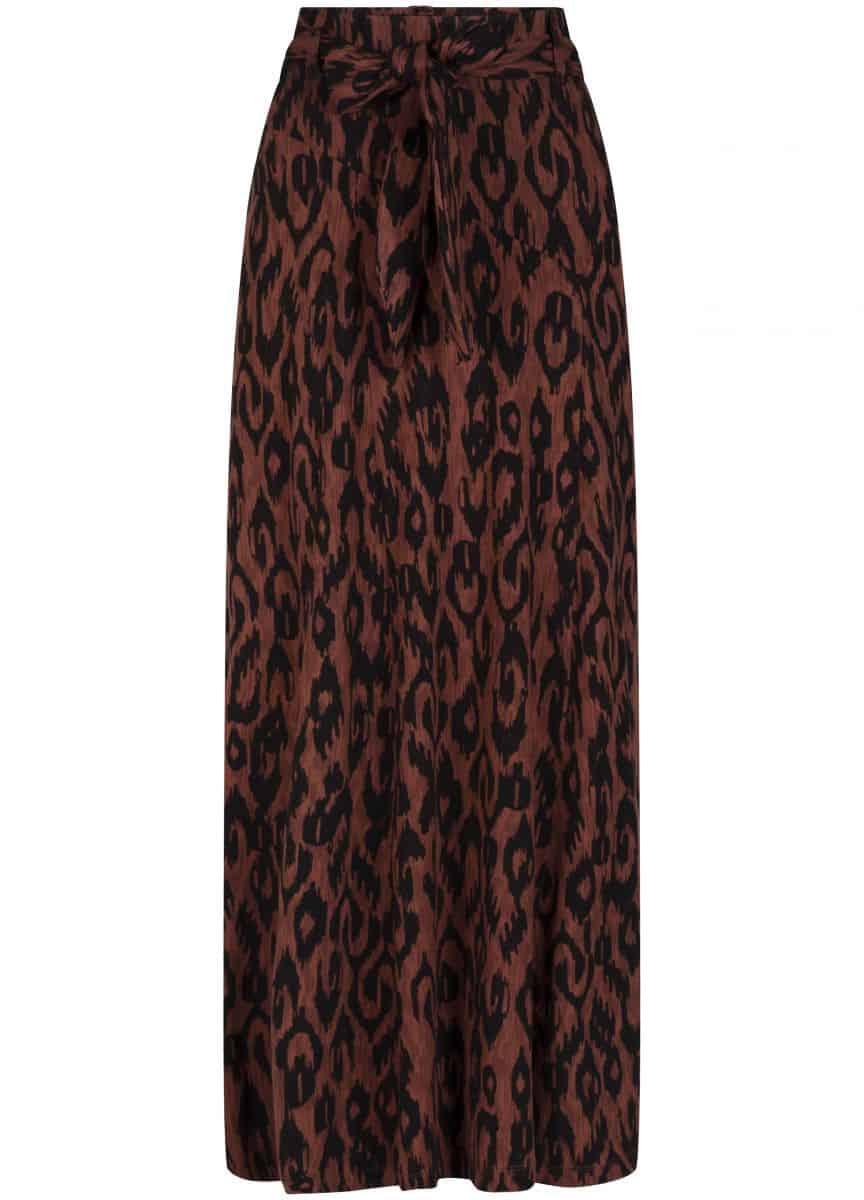 Tramontana Skirt Ikat Print