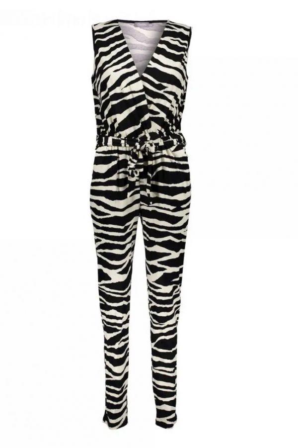 Geisha Jumpsuit Zebra Sleeveless