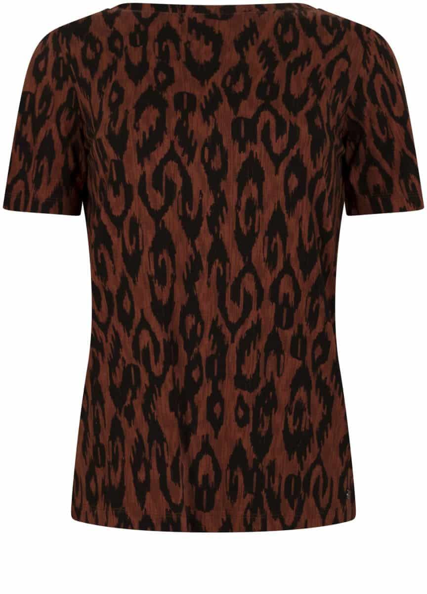 Tramontana T-shirt backwards Ikat Print