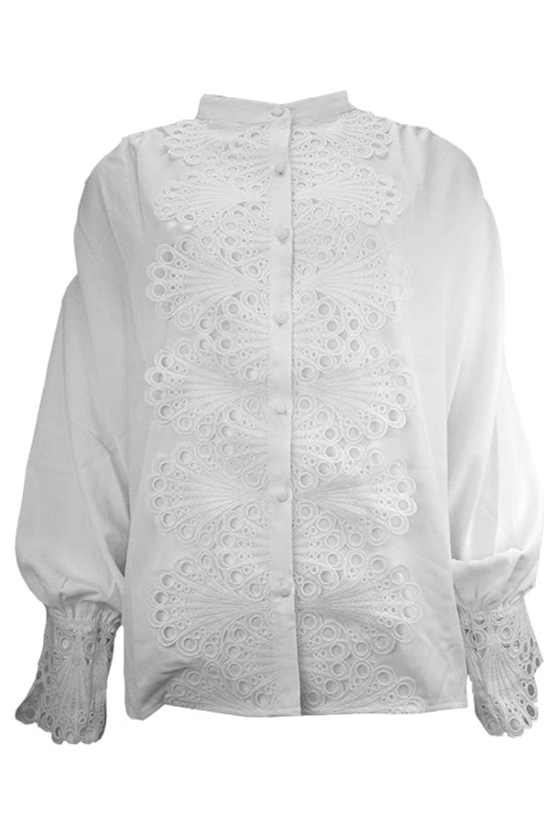 Blouse met Kant Lilly