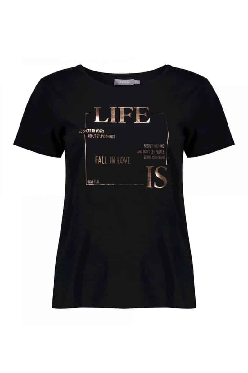 "Geisha T-Shirt ""Life is"" s/s"