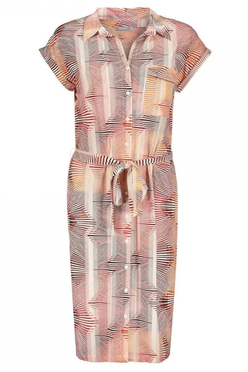 Geisha Dress Coral
