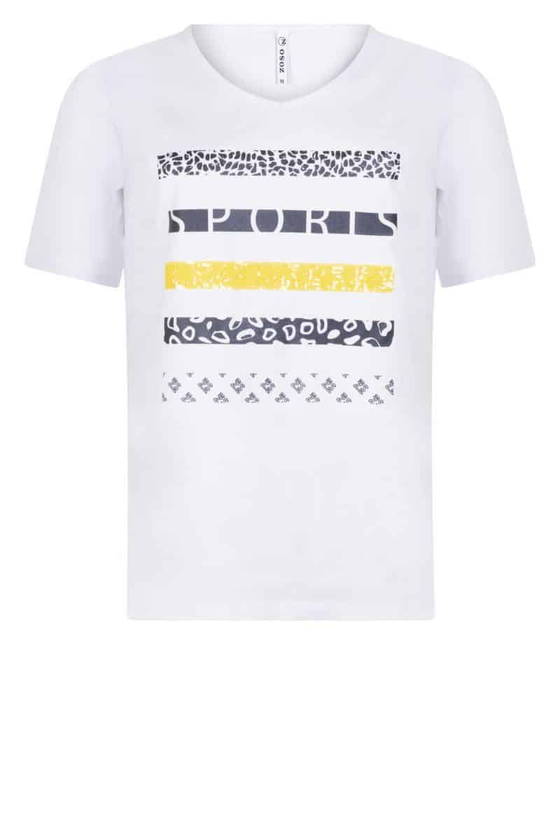 Zoso T-shirt 213 Mabel Yellow