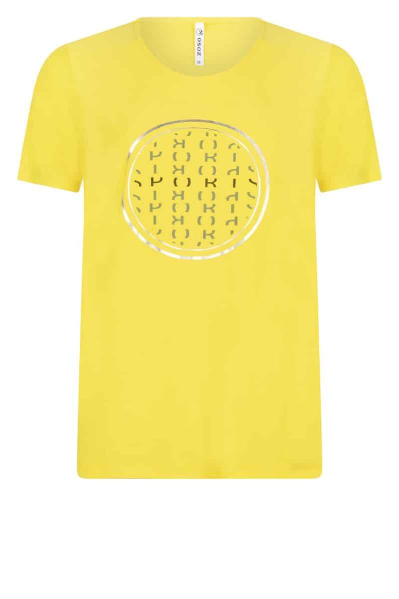 Zoso T-shirt 213 Walker Yellow