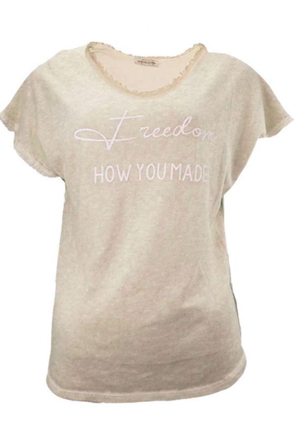 Triple Nine T-Shirt Beige