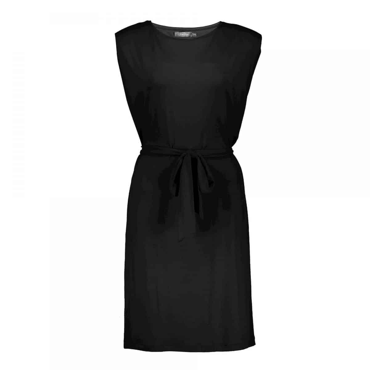 Geisha Dress Jess Solid Black