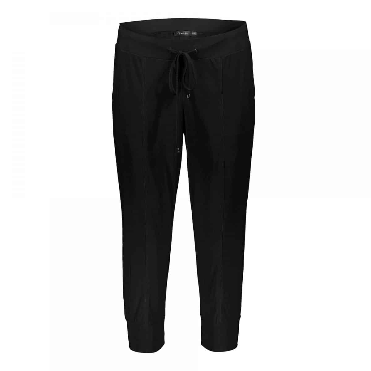 Geisha Pants Travel 3/4 Black