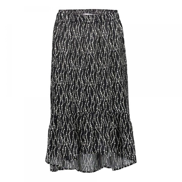 Geisha Skirt Black/Off-White Combi