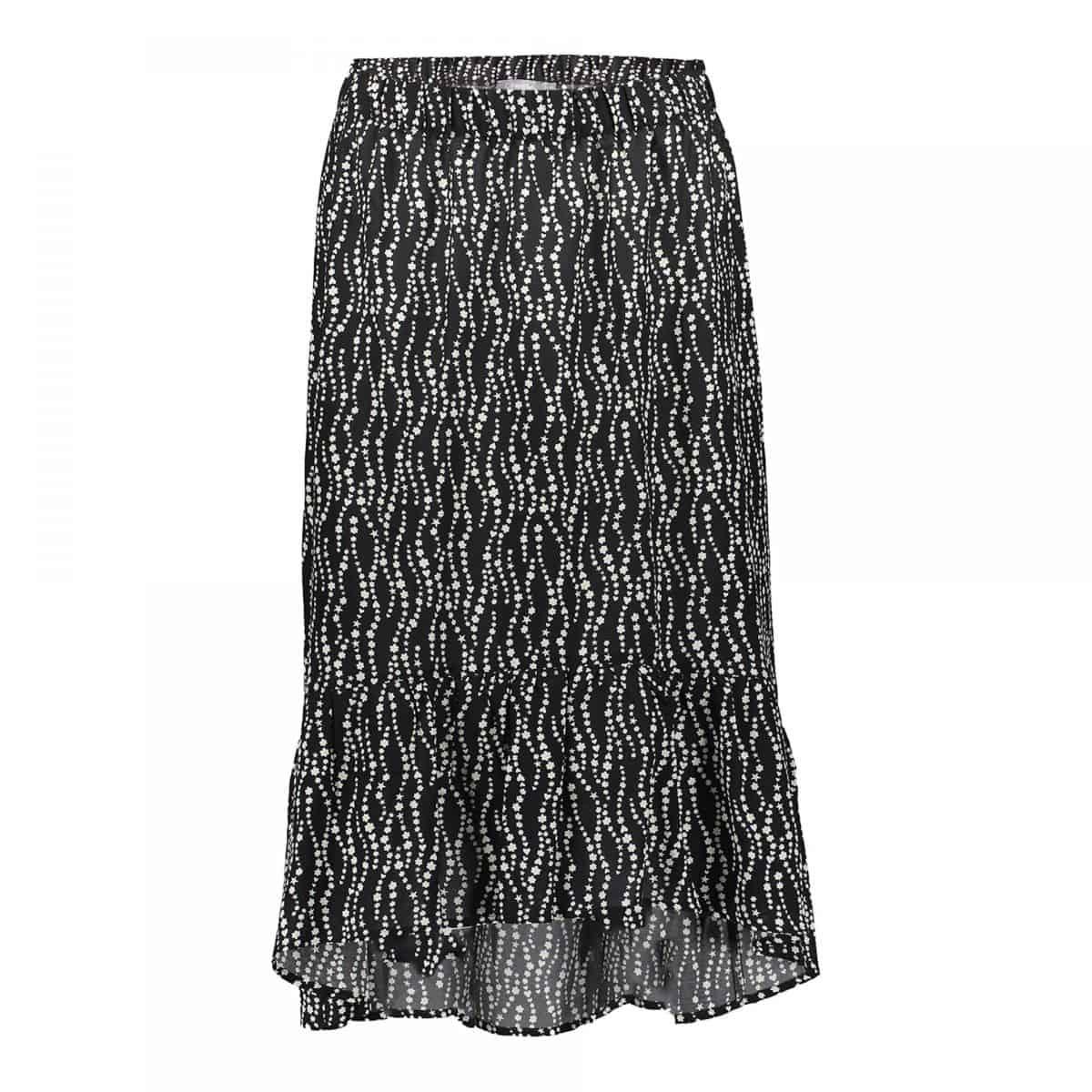Geisha Skirt Black/Off-White Combi