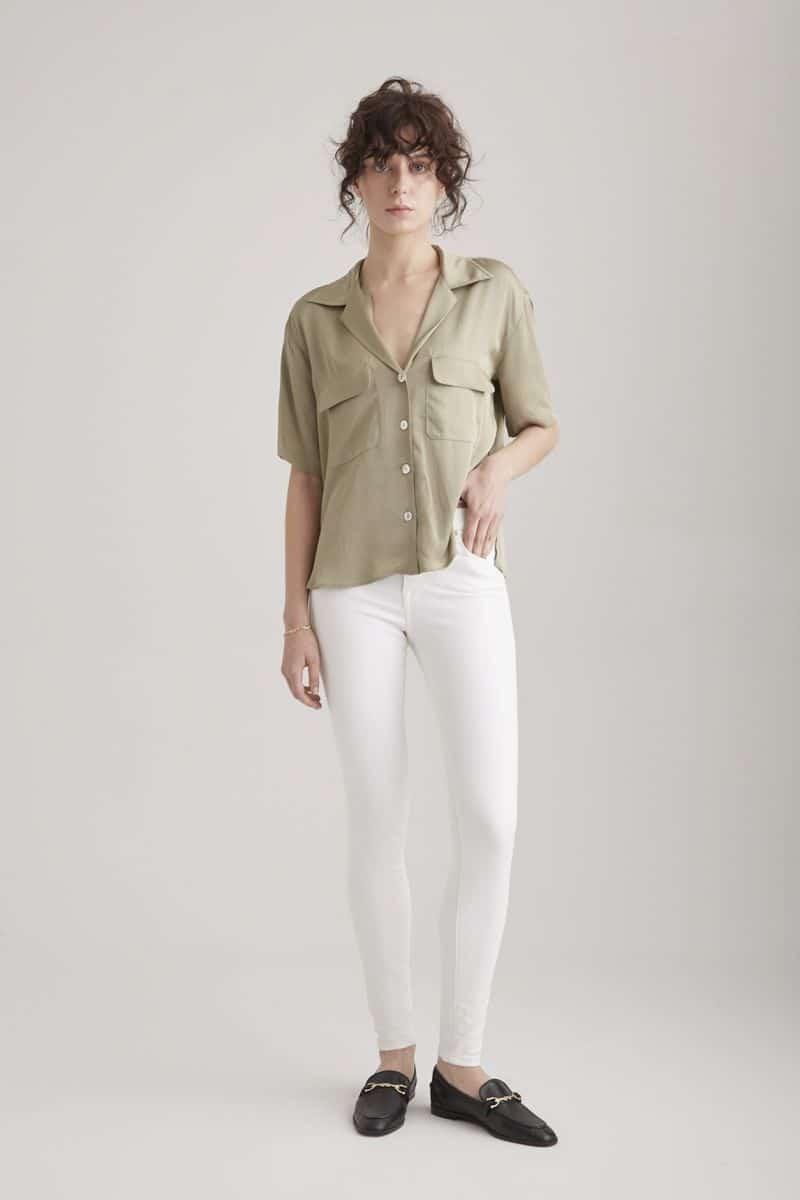 COJ White Skinny Jeans Sophia