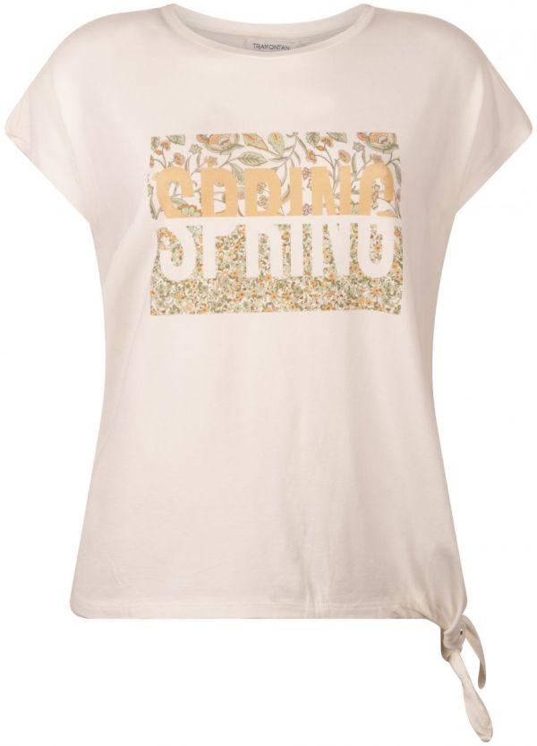 Tramontana T-Shirt Spring Off-White