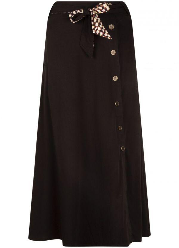Tramontana Skirt Midi Buttons