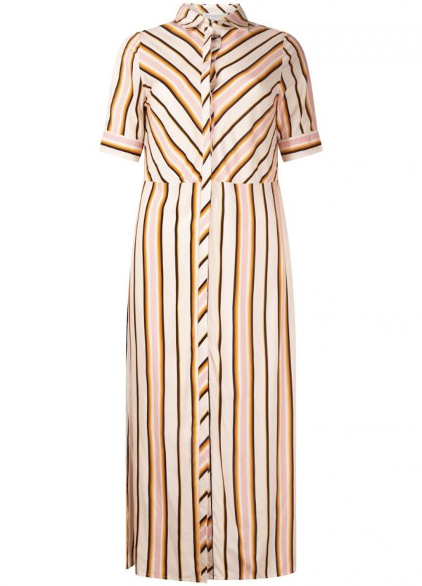 Tramontana Dress Summer Stripes Print