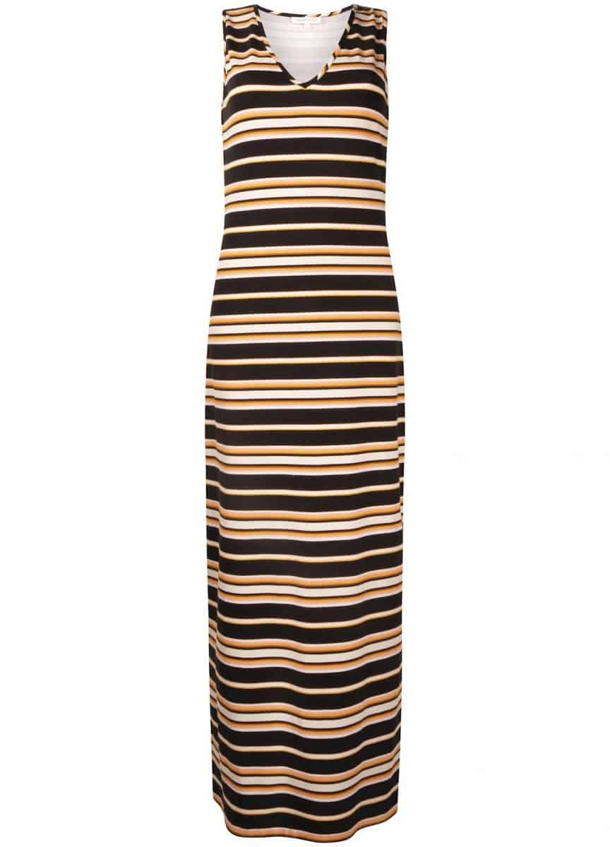 Tramontana Dress S/L Dark Summer Stripes