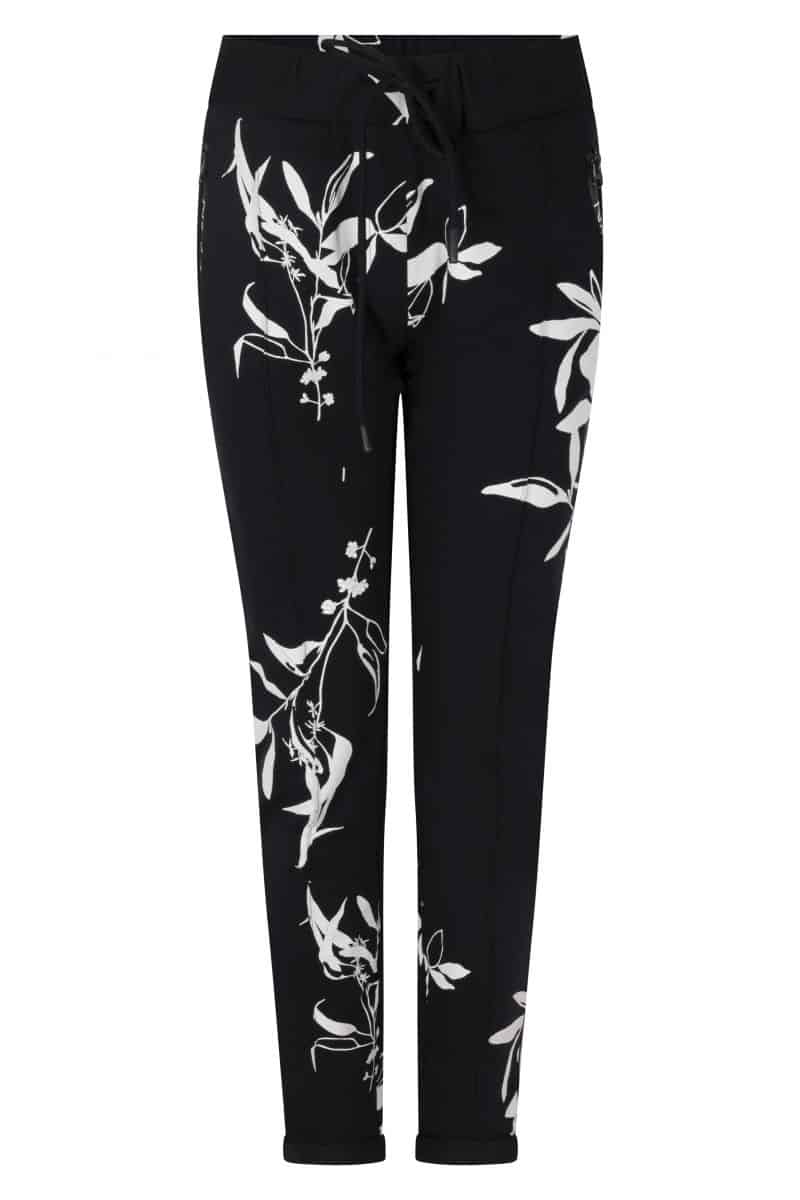 Zoso Sweat Trouser 213 Jane Allover Print Navy/White